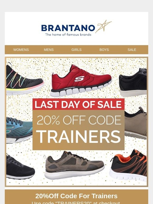 Brantano: Don't Miss out | Milled