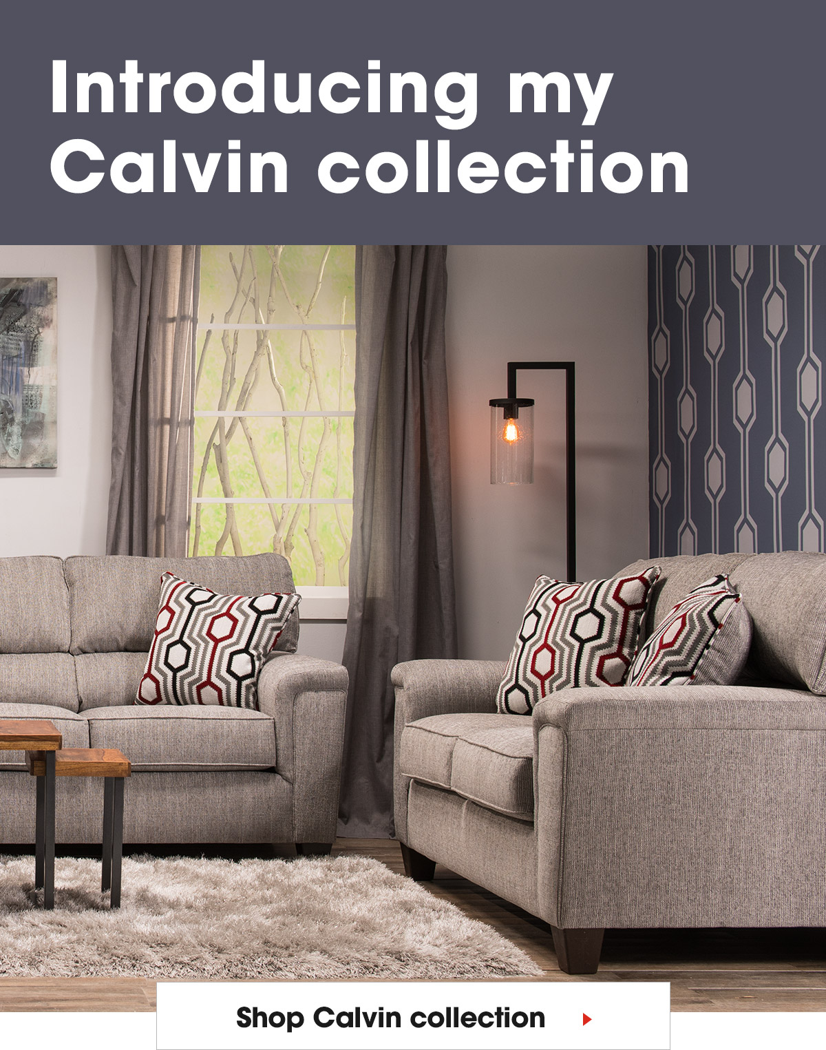 Bobs Discount Furniture Introducing My Calvin Collection Milled