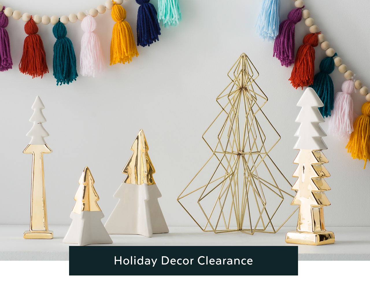 Holiday Decor Clearance