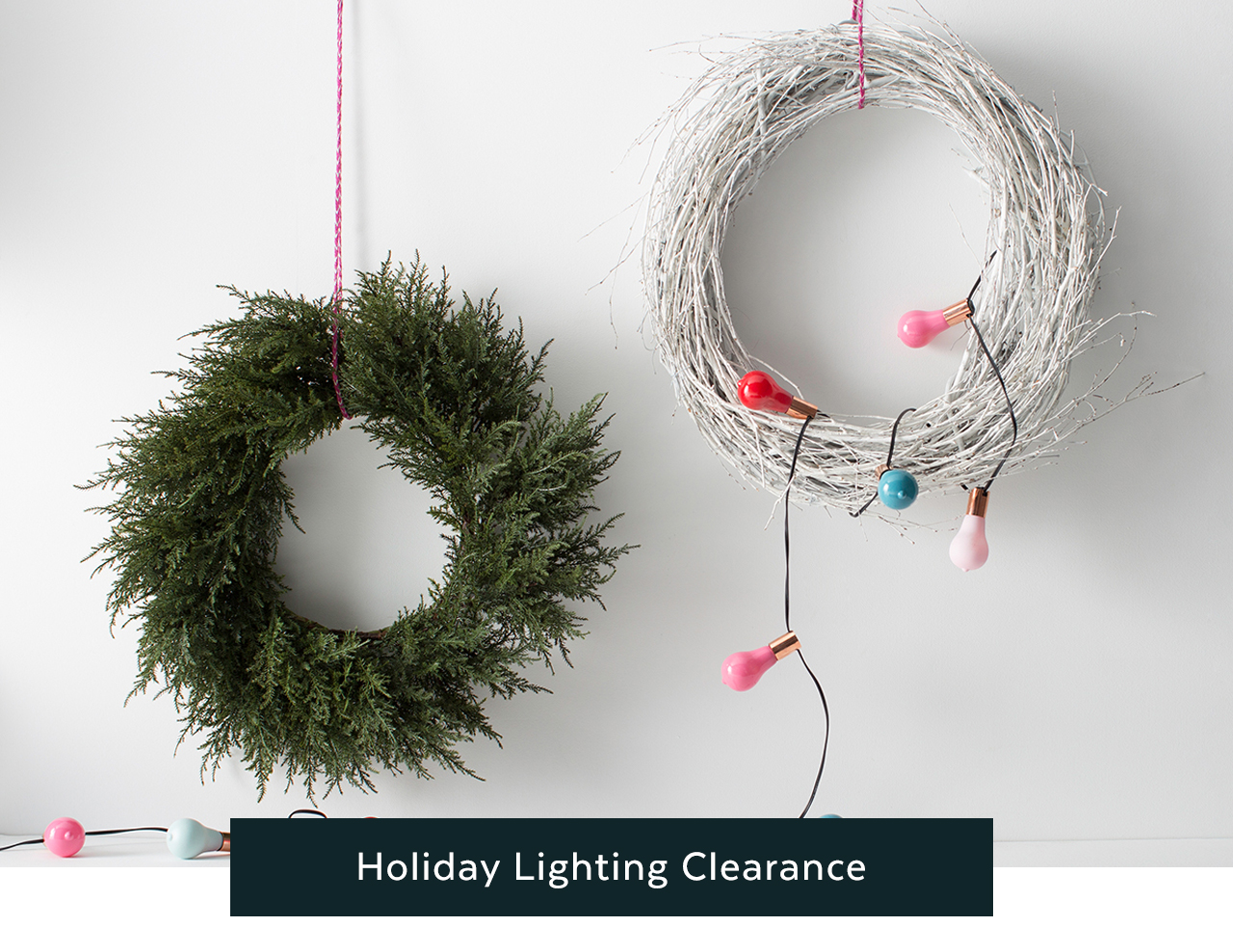 Holiday Lighting Clearance