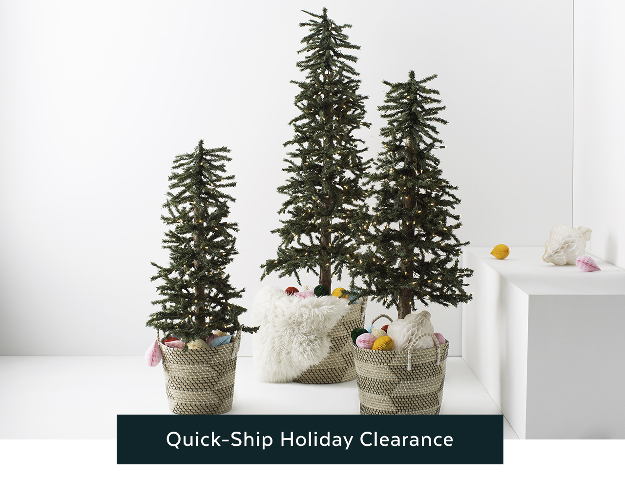 Quick Ship Holiday Clearance
