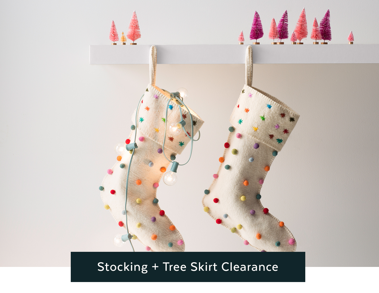 Stocking and Tree Skirt Clearance