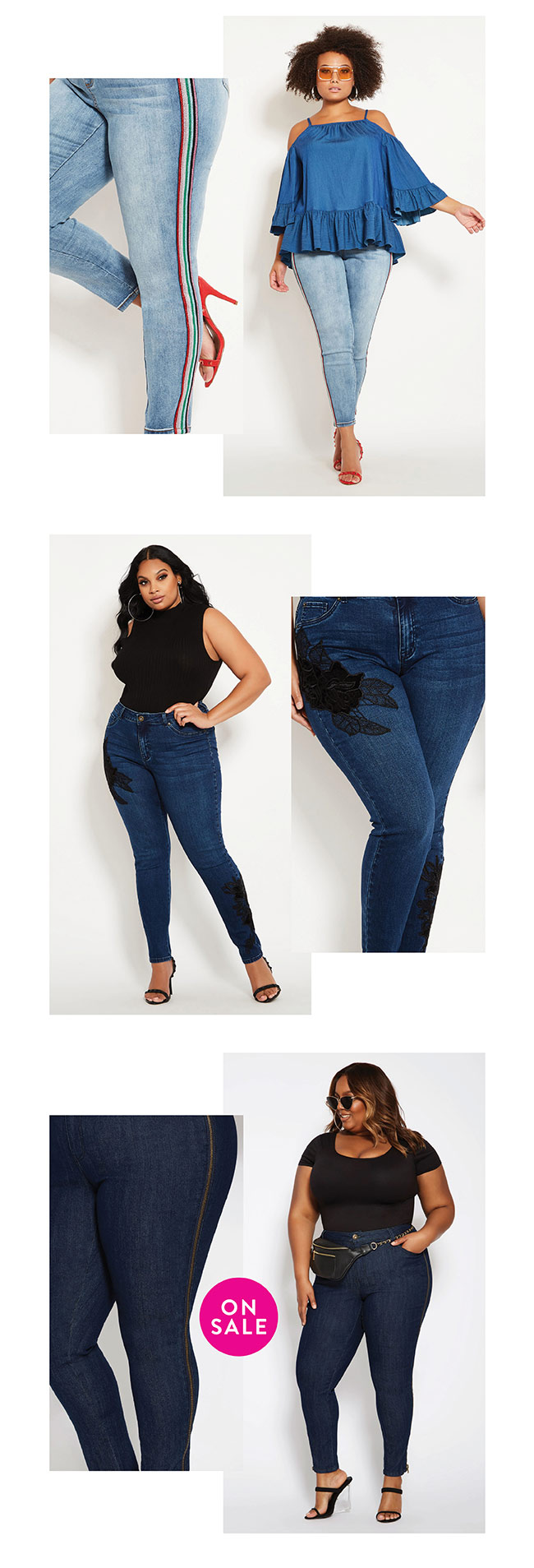 You will love my side of jeans - Shop Now