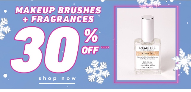 Shop Now 30% Brushes & More