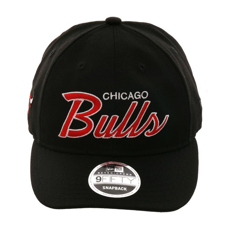 2e2666fc New Era 9fifty Chicago Bulls Retro Crown Snapback Hat - Black