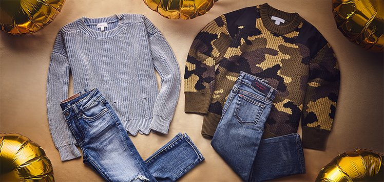 Up to 60% Off Looks for Little Trendsetters