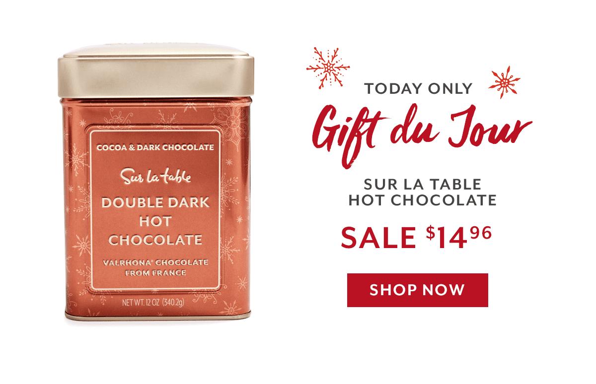 Gift Du Jour - Double Dark Hot Chocolate