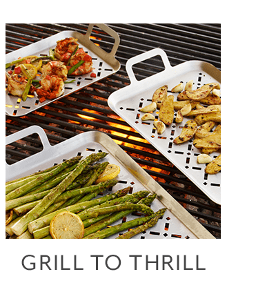 Stainless Steel Grill Grids, Set of 3