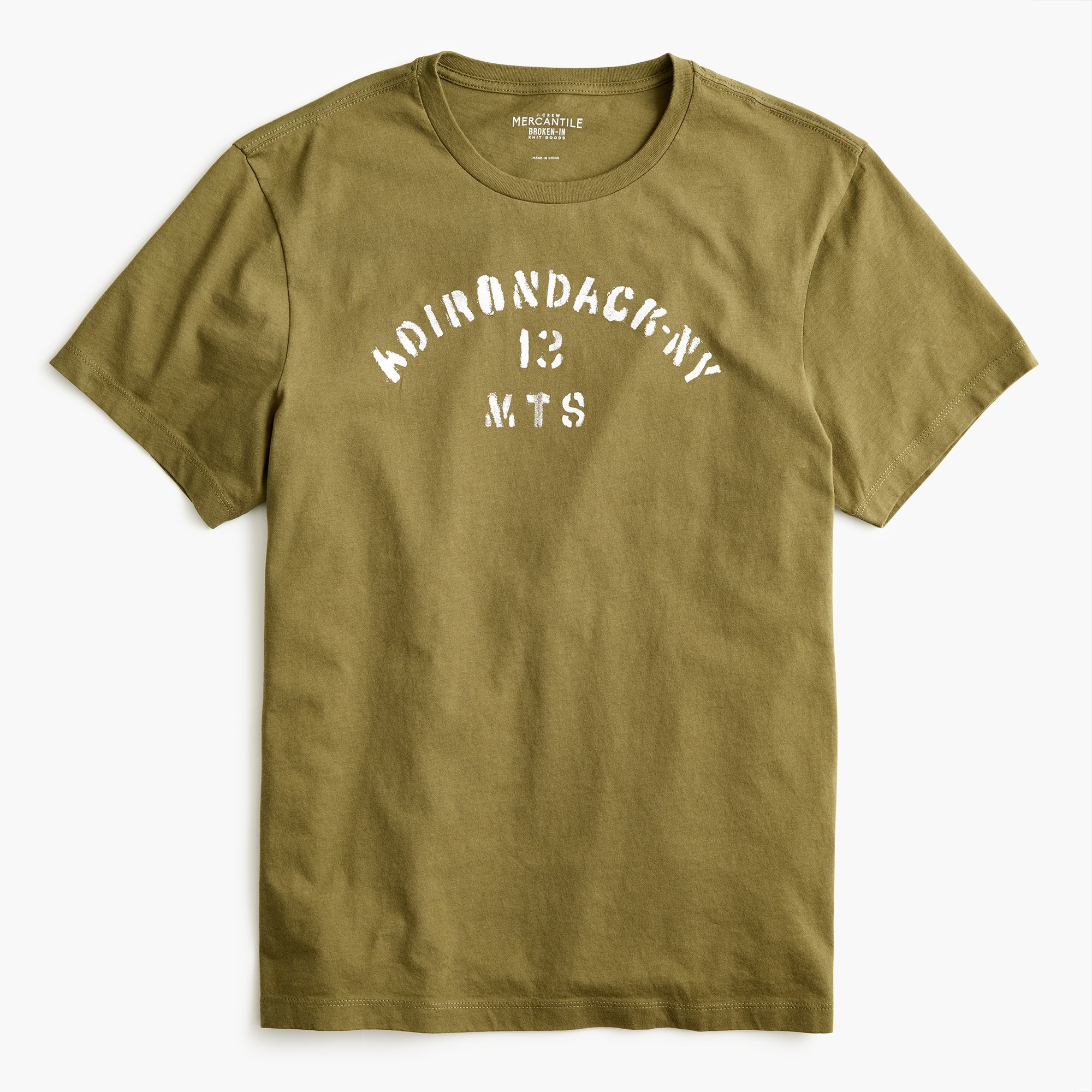 J.Crew Mercantile Adirondack mountains graphic T-shirt
