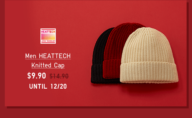 MEN HEATTECH KNITTED CAP $9.90 - SHOP NOW