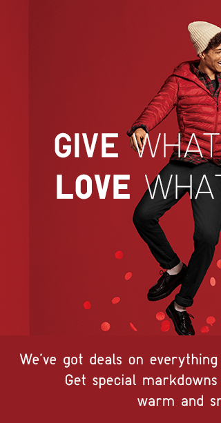 GIVE WHAT YOU LOVE - SHOP MEN