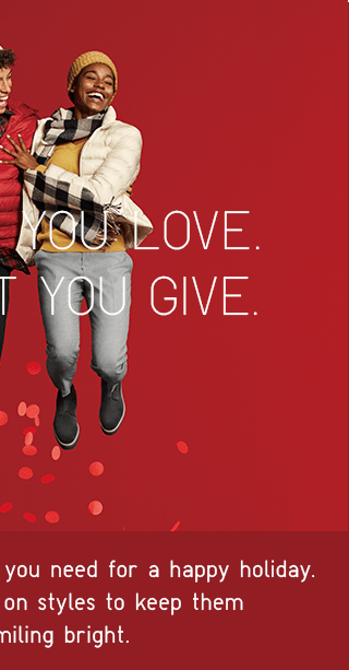 LOVE WHAT YOU GIVE - SHOP WOMEN