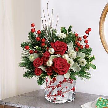 Teleflora's Winterberry Kisses Bouquet