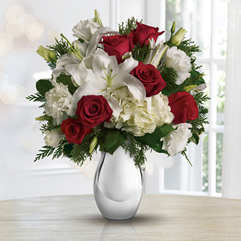 Teleflora's Silver Noel Bouquet