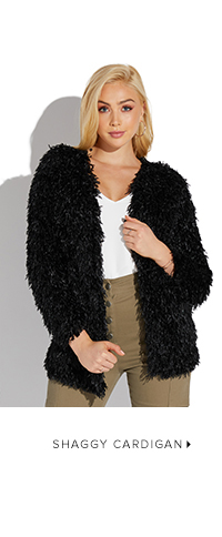 SHOP SHAGGY CARDIGAN