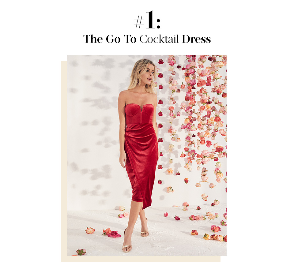 #1: The Go-To Cocktail Dress