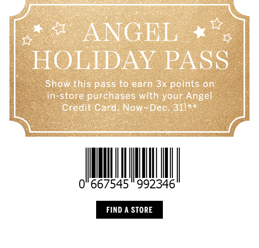 Holiday Pass** - Find A Store