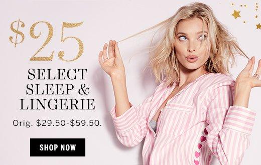 $25 Select Sleep