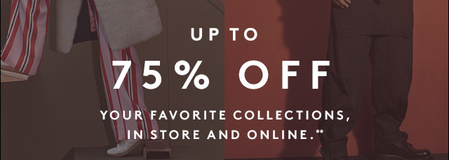 Even more savings on our sale of the season.