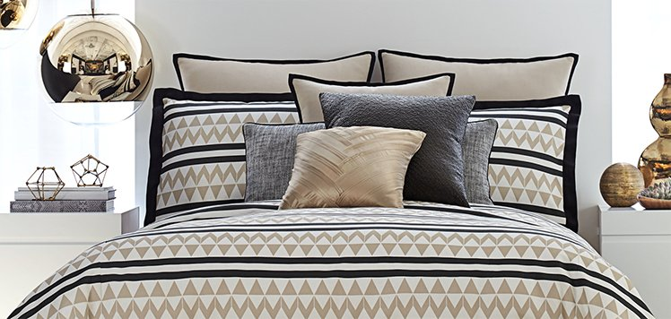 The Glam Bedroom: Bedding & More