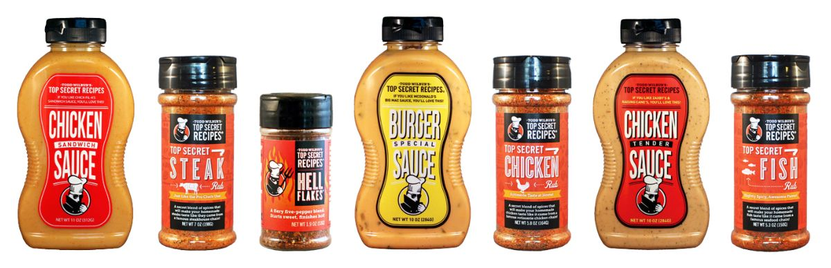 Top Secret Recipes, Inc : Last day - Buy 2 get 1 free, any sauces