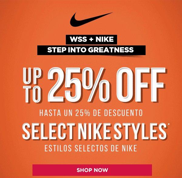 86650c19b594 Shop WSS: -UP TO 25% OFF SELECT NIKE & JORDAN! | Milled