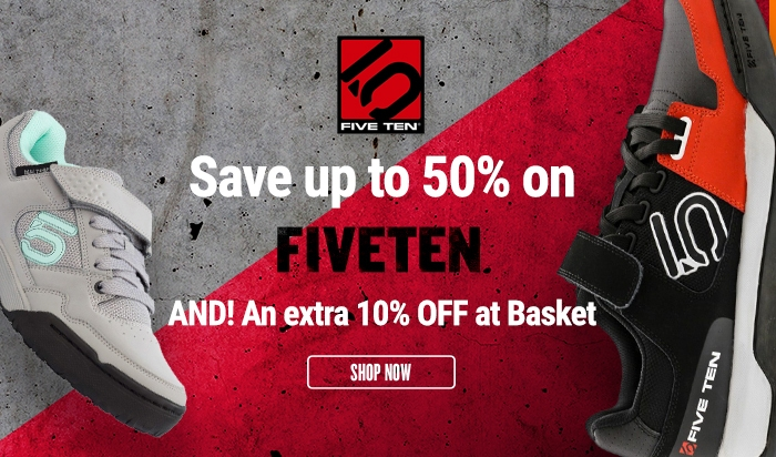 Five Ten - Save up to 50% AND! An extra 10% OFF at Basket