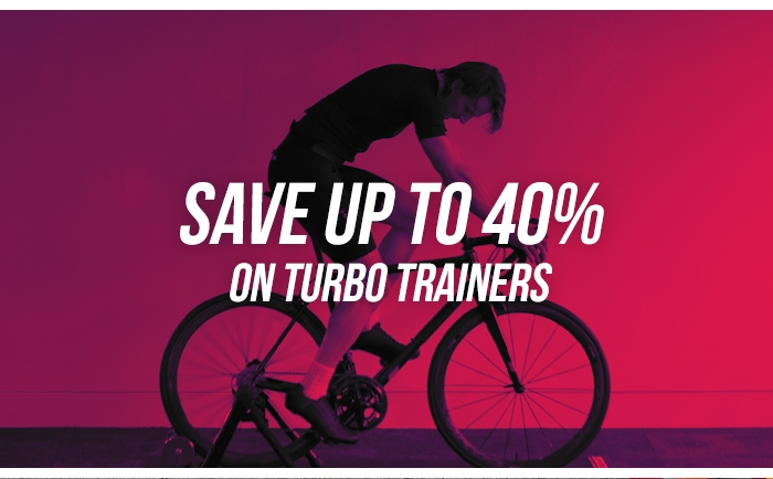 Save up to 40% on Turbo Trainers