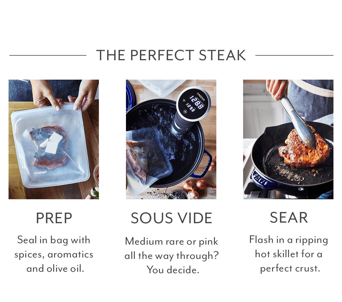 The Perfect Steak - Prep, Sous Vide, Sear