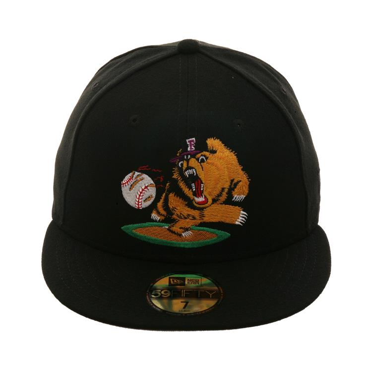 detailed look e229c 3ffa5 Exclusive New Era 59Fifty Fresno Grizzlies 2003 Alternate Hat - Black