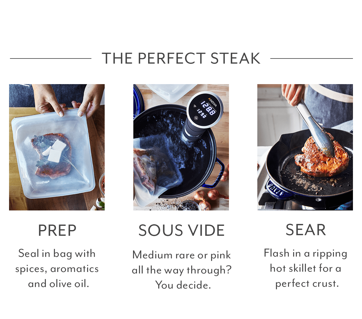 The Perfect Steak - Prep, Sous Vide, Sear