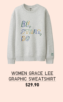 WOMEN GRACE LEE GRAPHIC SWEATSHIRT $29.90