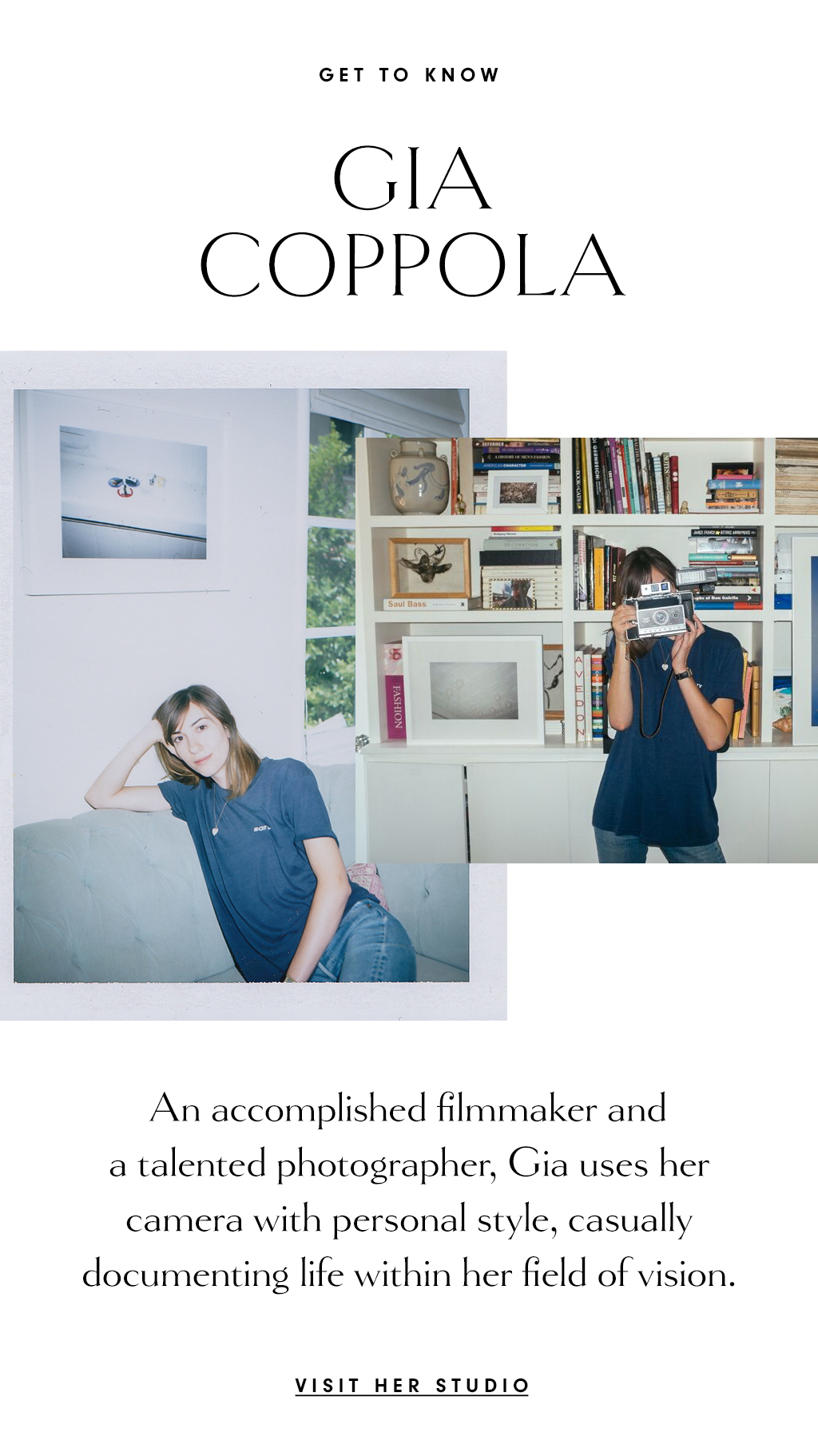 The Tappan Collective In The Studio With Gia Coppola Milled