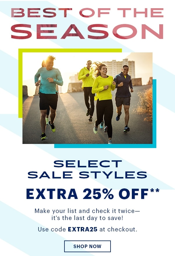 Best Of The Season, Extra 25% Off** Select Sale Styles Use Code EXTRA25, Shop Now