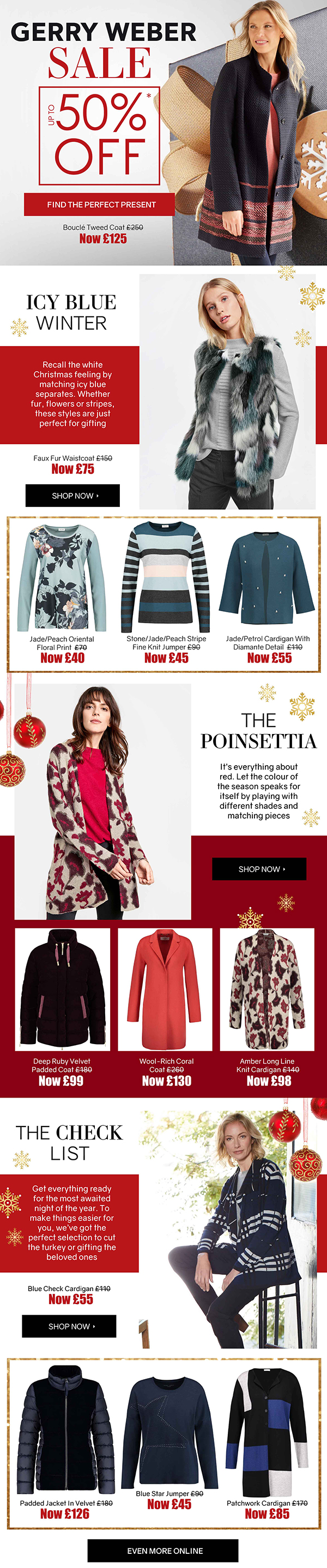 b31e08a920 Chesca Direct  SALE up to 50% OFF - Gerry Weber Christmas Gifts ...