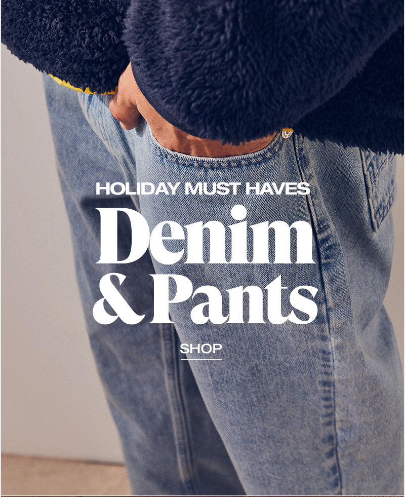 Holiday must haves denim and pants -Shop