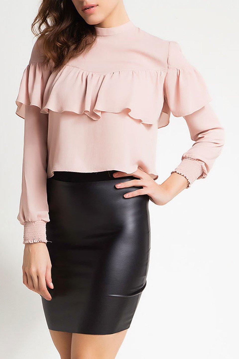 Peony Skirt in Black
