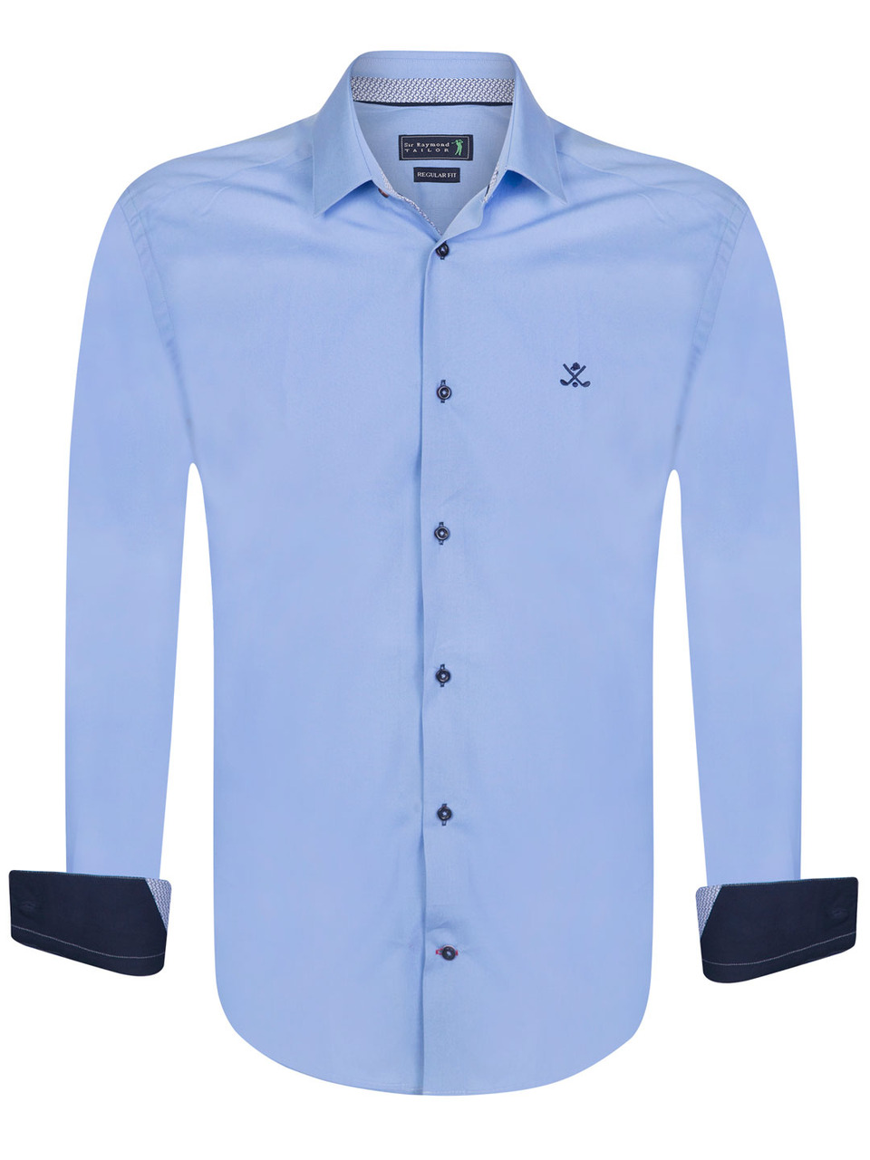Concede Shirt in Blue