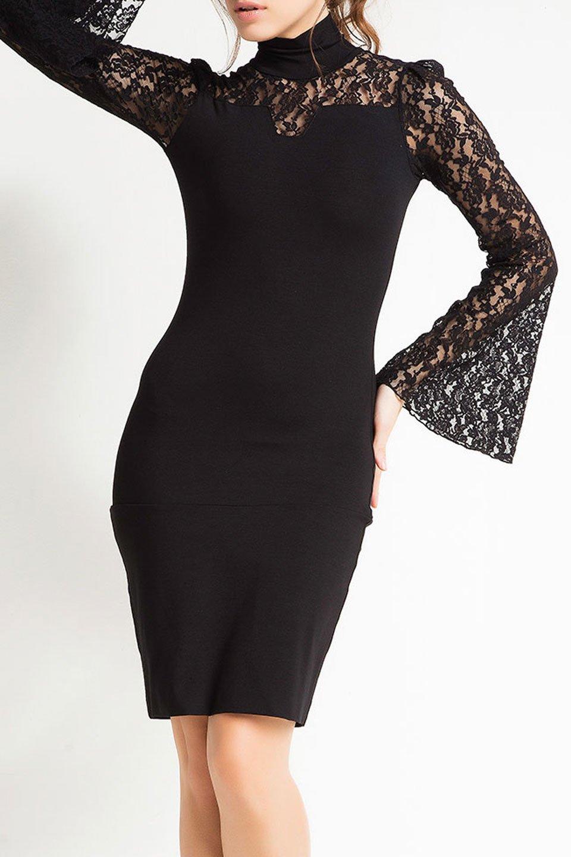 Melanie Dress in Black