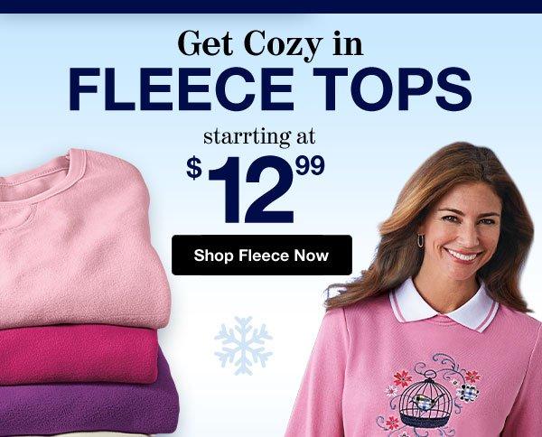 Shop Women's Fleece!
