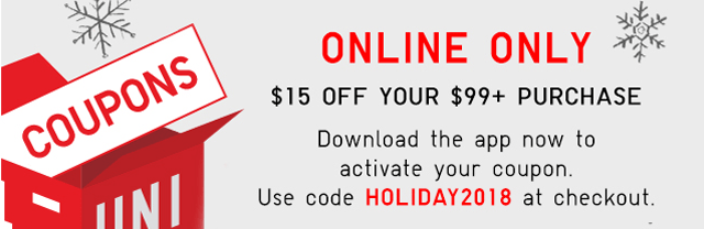 ONLINE ONLY - 415 OFF YOUR $99+ PURCHASE