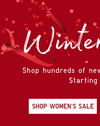 WINTER SALE - SHOP WOMEN'S SALE