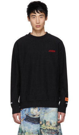 Heron Preston - Black 'Style' Sweatshirt
