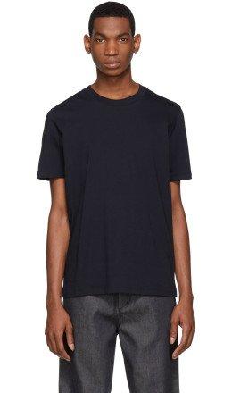 Jil Sander - Navy Round Neck T-Shirt
