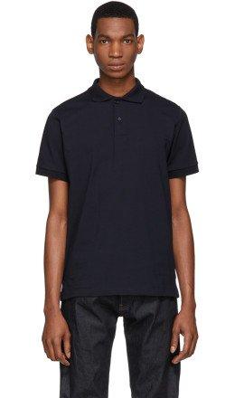 Jil Sander - Navy Polo Shirt