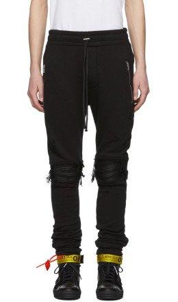 Amiri - Black MX1 Moto Lounge Pants