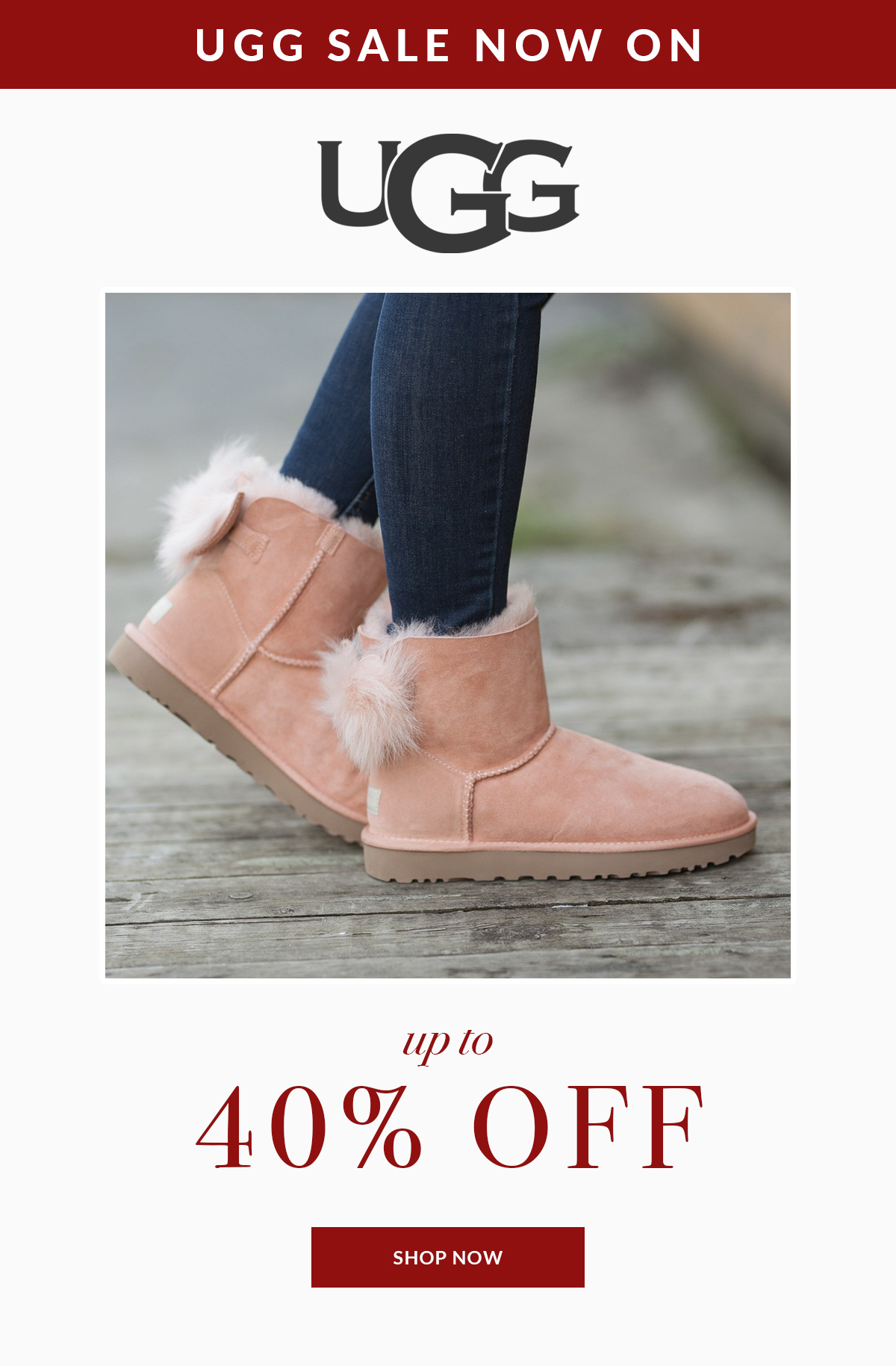 Up to 40% off UGG Sale Continues 0f65cae27
