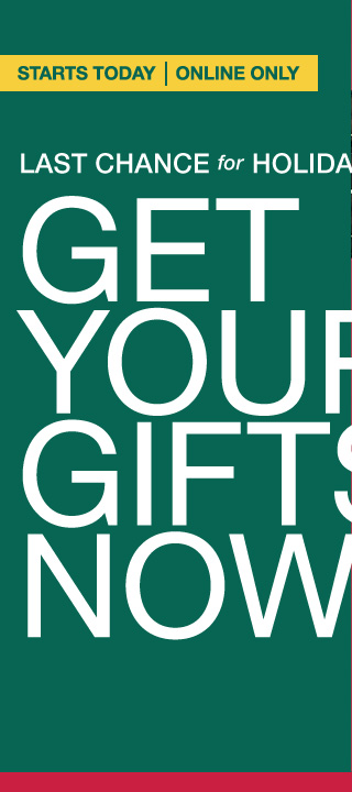GET YOUR GIFTS NOW