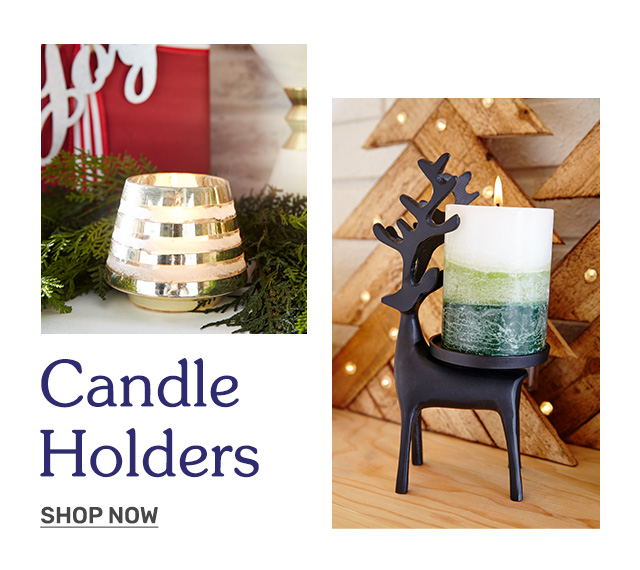Shop candle holders.