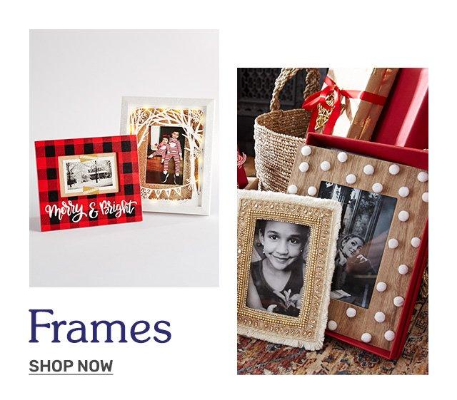 Shop frames.